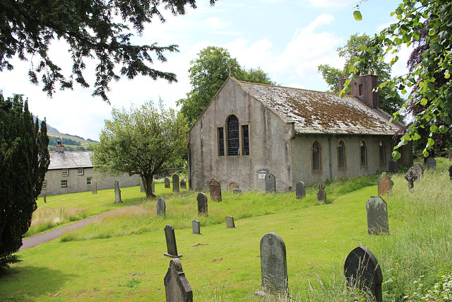 Saint Mary's Churchyard, Threlkeld, Cumbria
