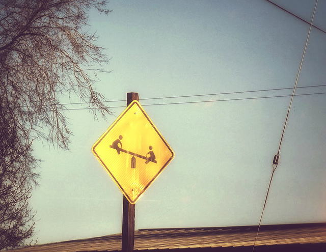 Watch out for teeter-totters!