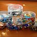 Wiederverwertung (Recycling) und Weiterverwendung von Plastikbehältern