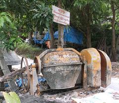 Cabana et ciment