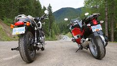Triumph and BMW