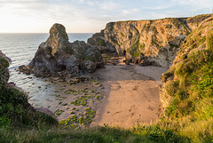 Whipsiderry Beach in last evening light