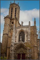 Die Kathredrale in Aix