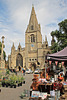 St. Deny's church and Market place ~ Sleaford ~ Lincolnshire