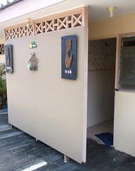 WC à la Thaï .....un culte même là !