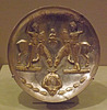 Sasanian Plate with Youths and Winged Horses in the Metropolitan Museum of Art, February 2014