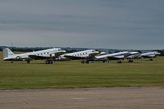 DC3 line up