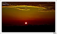 Le soleil couchant trouve son lit...