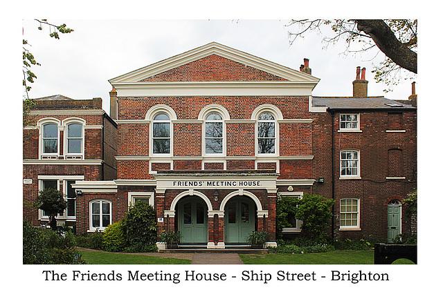 Friends Meeting House - Brighton - 27.4.2015