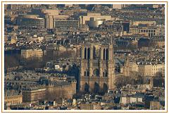 Paris - Notre Dame, des hauteurs