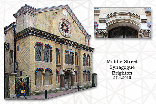 Middle Street Synagogue - Brighton - 27.4.2015
