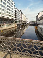 Alsterfleet von der Adolphsbrücke