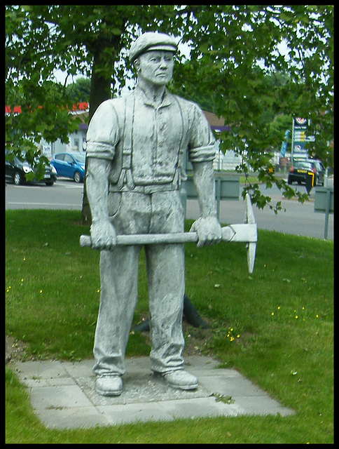 Rugely Miners Memorial
