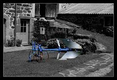 la charrue bleue- Blue plough