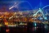 Hohenzollernbrücke...eine kleine Nachtmusik...