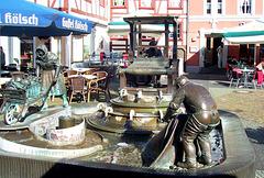 DE - Euskirchen - Brunnen am Alter Markt
