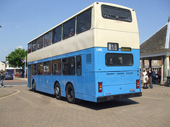 DSCF2073 K481 EUX former China Motor Bus LM10 (FW 3858) - Fenland Busfest - 20 May 2018