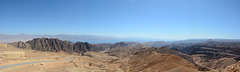 Israel, The Overview Point in the Mountains of Eilat