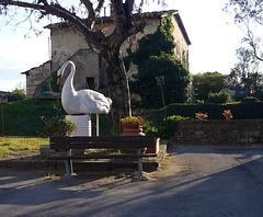 Village square bench HBM!