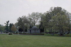 Near Abraham Lincoln's Tomb