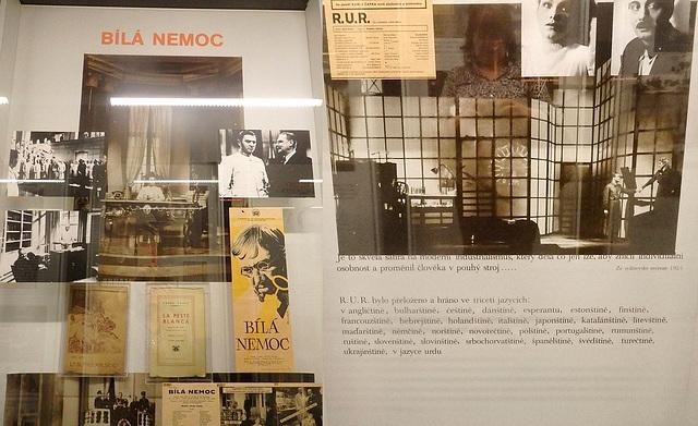 Pri Esperanto en la Muzeo de fratoj Čapek en Malé Svatoňovice
