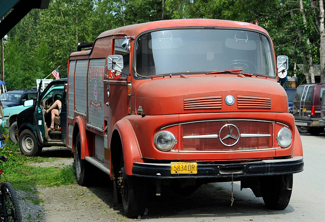(Fire)Truck in Talkeetna, Alaska