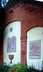 DE - Brühl - Gedenkstätte am Ort der früheren Synagoge