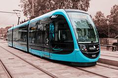 BESANCON: Le Tram station République.