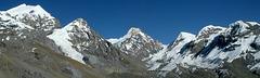 Vue d'High Camp 4975m avant le Thorung