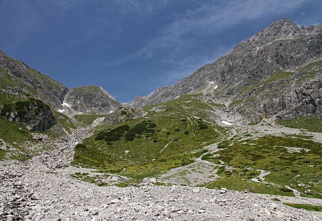 Bergwelt am Lünersee