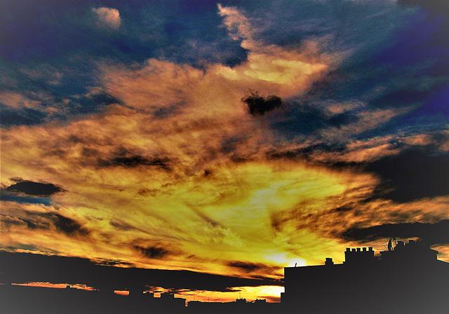 Sunrise Madrid