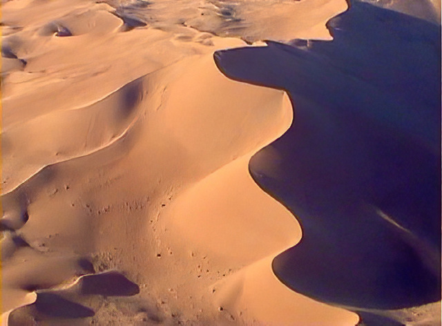 Sahara Algeria North Africa 1st November 2000