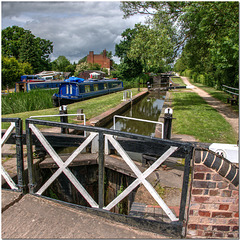 Lapworth Lock, Stratford-upon-Avon Canal