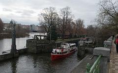 Prague Smíchov Lock (#0824)