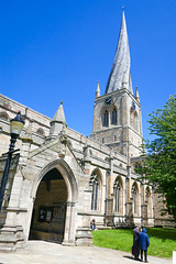 The crooked spire of Chesterfield - UK.