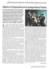Petr Chrdle - Opero en Esperanto en la praga Nacia Teatro