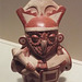 Moche Vessel of a Warrior in an Owl Mask in the Virginia Museum of Fine Arts, June 2018