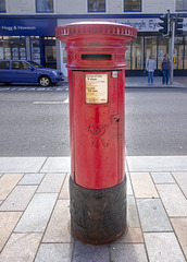 Queen Victoria Pillar Box, Helensburgh