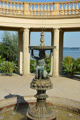 Brunnen in der Orangerie