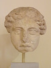 Colossal Head of a Goddess in the National Museum of Athens, May 2014