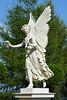 Schwebende Viktorie  im Burggarten