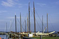 Im Hafen von Dierhagen