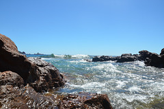 Au large d'Antibes...