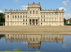 Das Schloss Ludwigslust...