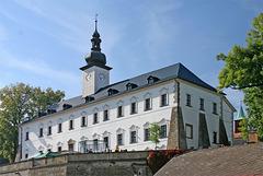 Kastelo en Letohrad - orienta alo