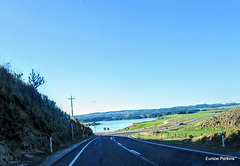 Approaching Lake Maraetai.