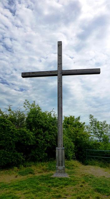 Gipfelkreuz auf der Landskrone
