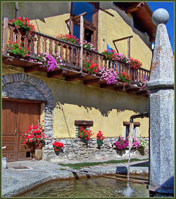 Balboutet : fiori , fontane , meridiane...