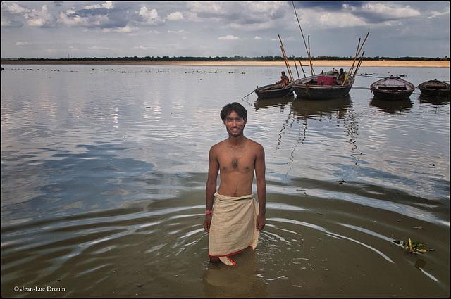 Pêcheur du Gange