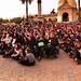 Masivo, alegre y emotivo homenaje a Víctor Jara.